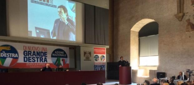 La convention di Orvieto tra Destrae Azione Nazionale