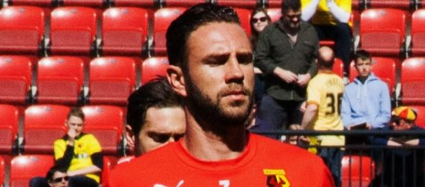 Miguel Layún entrenando con el Watford