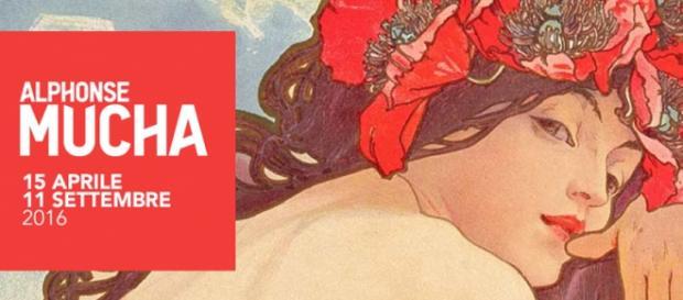 Mostra di Alfons Mucha al Vittoriano di Roma