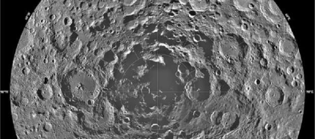 South Pole of the Moon (Credit NASA)