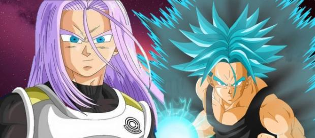 Trunks del futuro de Dragon Ball Super