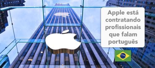Apple tem vagas abertas para fluentes em português - Foto: Reprodução Inc