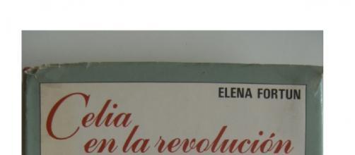 """Portada de """"Celia en la revolución"""", de Elena Fortún, edición original de Aguilar, año 1987. (Biblioteca personal)"""