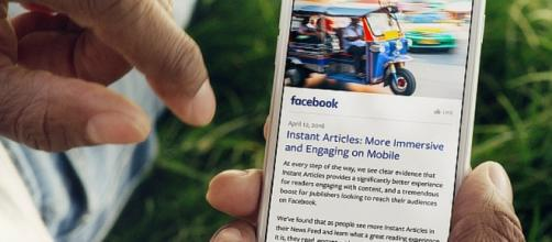 Facebook Instant Articles - Photo Courtesy Facebook Media