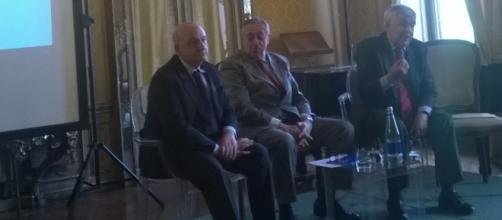 Giovvanandrea Anfora e Salvatore Torrisi. Fra i 2 Alberto Fumi