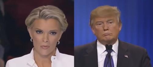 Megyn Kelly, Donald Trump, via YouTube