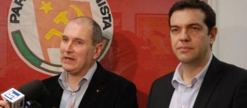Riforma pensioni, Paolo Ferrero e Alexīs Tsipras