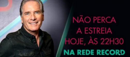 Roberto Justos no Power Couple (Reprodução/Twitter oficial do reality)