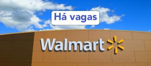 Vagas no Walmart. Foto: Reprodução Walmart.