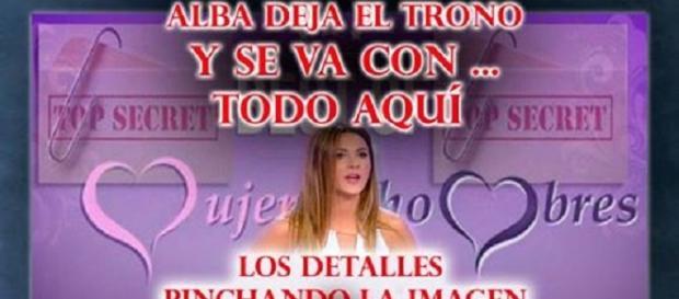 Alba, tronista de Mujeres y Hombres