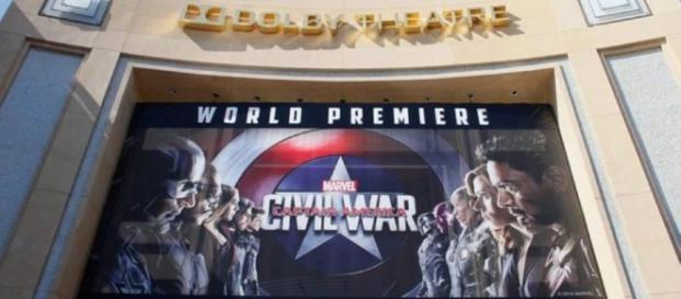 El gran escenario para la presentación de la película a la prensa