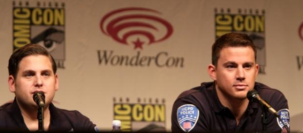 Jonah Hill and Channing Tatum at WonderCon in 2012. Gage Skidmore/Flickr.