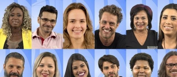 Os 12 participantes do Big Brother Brasil 2016