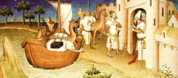 Posterior al feudalismo donde viajar era innecesario porque se consume lo que se produce, comerciar con lugares lejanos fue básico
