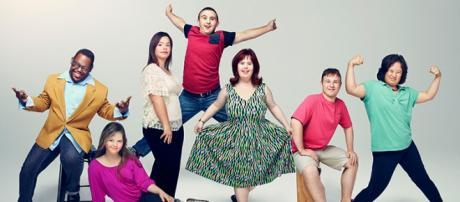 """Los personajes de la serie de Tv """"Mi vida con Síndrome de Down"""""""