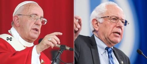 Bernie Sander al convegno in Vaticano