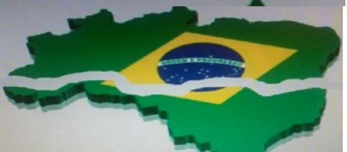 Brasil, um país dividido ao meio.