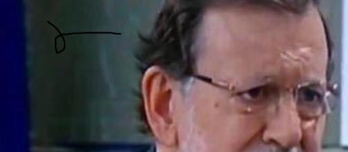 Mariano Rajoy en una entrevista.