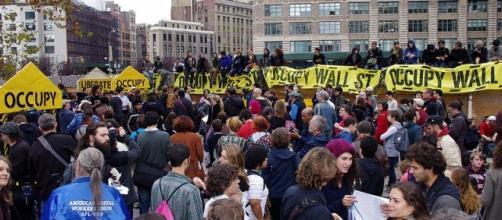 Occupy Wall Street Rally Nov 2011 (Wikimedia David Shankbone)