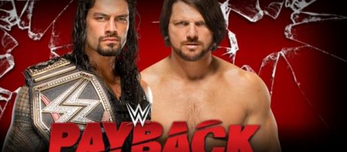 Payback 2016, Roman Reigns vs AJ Styles