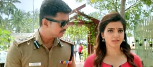 Vijay and Samantha in a scene (Twitter)