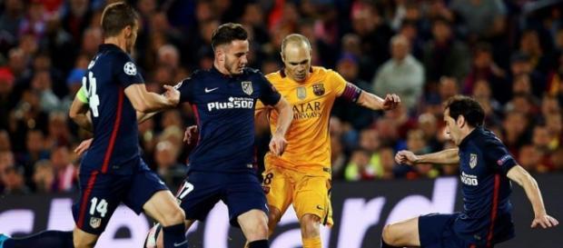 Atlético de Madrid bateu o poderoso Barcelona