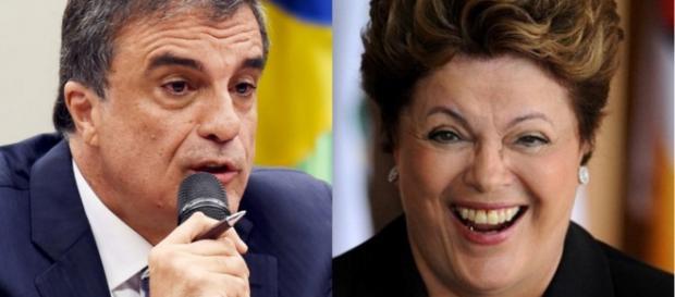 Dilma entra na justiça ao STF - Imagem/Montagem