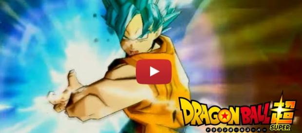 Goku en el video de Dragon Ball Heroes GM7