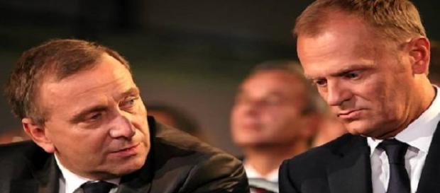 Grzegorz Schetyna, Donald Tusk