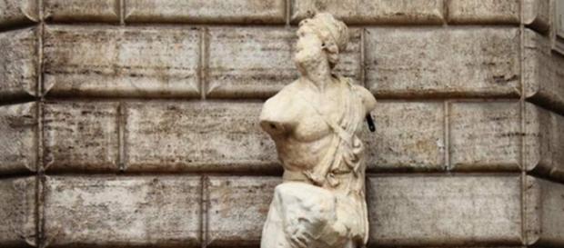 La estatua parlante de Pasquino