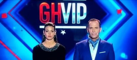 Laura Matamoros y Carlos Lozano en la final. Foto vía Twitter