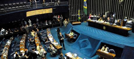 Senado brasileiro em 2006 (Wikimedia Commons)