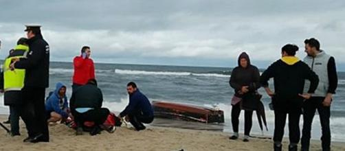 Corpos dos pescadores deram à costa pouco depois