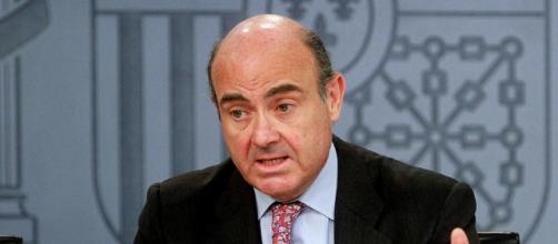 El Ministro de Economía y de Industria Luis de Guindos