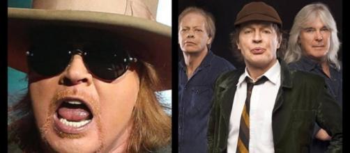 El vocalista de los Guns N' Roses estara con AC/DC durante todas las fechas del Tour Europeo