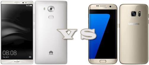 Huawei Mate 8 vs Samsung Galaxy S7 Edge