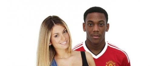 Mélanie candidate de l'émission de téléréalité «Les Anges 8» serait en couple avec Anthony Martial, un footballeur.