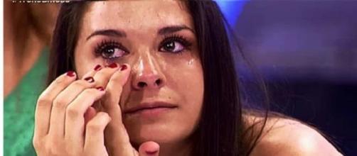 Ruth llorando por Iván en el programa