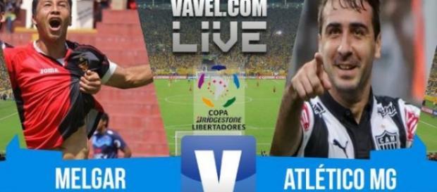 Atlético-MG vence o Mélgar por 4 x 0