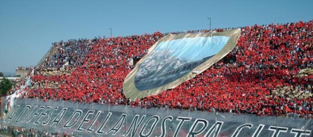 Curva sud U.S. Salernitana - Stadio Arechi