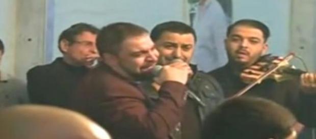 Florin Salam a cântat la priveghiul lui Spoitoru