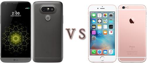 Confronto: LG G5 vs Apple iPhone 6s