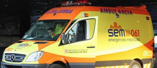 Las ambulancias de urgencias tan¡rdan 25 minutos en llegar, una vida podría perderse por ello.
