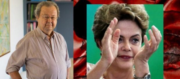 Fundador do PT critica Dilma - Foto/Montagem
