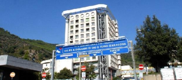Ospedale Ruggi di Salerno teatro dello scandalo