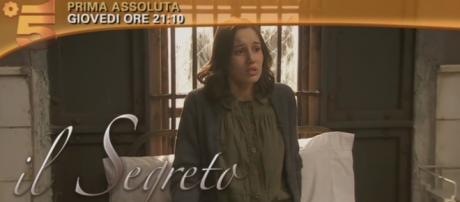 Il Segreto, anticipazioni puntata serale 21 aprile: Aurora in manicomio