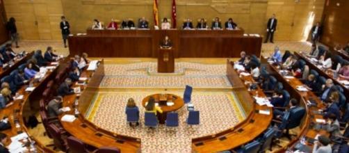 Asamblea de Madrid y una votación controversial