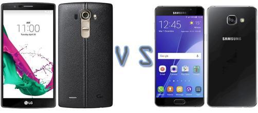 LG G4 vs Samsung Galaxy A5 (2016)