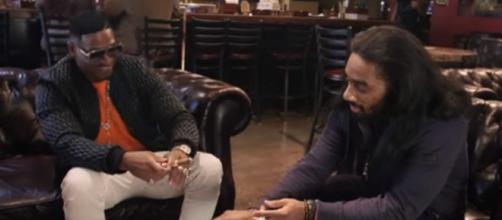'LHHATL' clip from YouTube of Scrapp and Stevie J together
