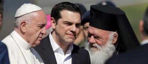 Papa Francisco foi à Grécia acompanhado dos líderes ortodoxos